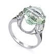 Золотое кольцо с зеленым аметистом SL-0263-457 весом 4.57 г  стоимостью 17550 р.