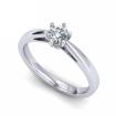 Кольцо с бриллиантом 0,3 карата SL-475-181-340 весом 3.4 г  стоимостью 44700 р.