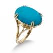Кольцо с бирюзой SLK-2864-500 весом 5 г  стоимостью 24250 р.